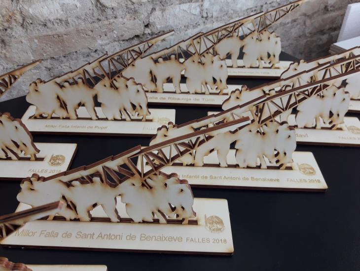 Fotografía Trofeos al tombe