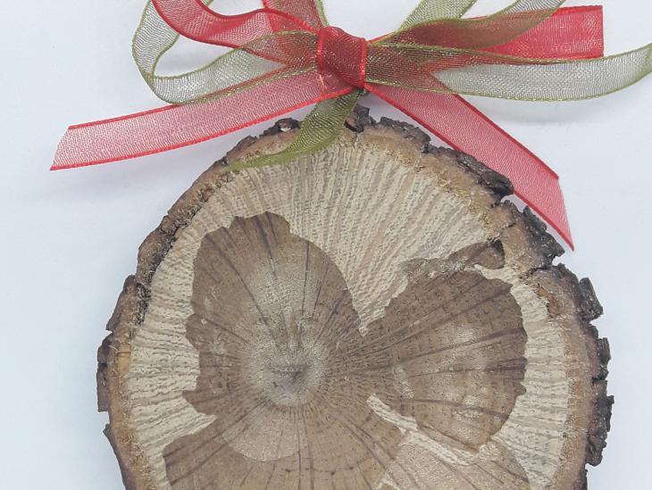 Fotografía Bonitos recuerdos en madera natural