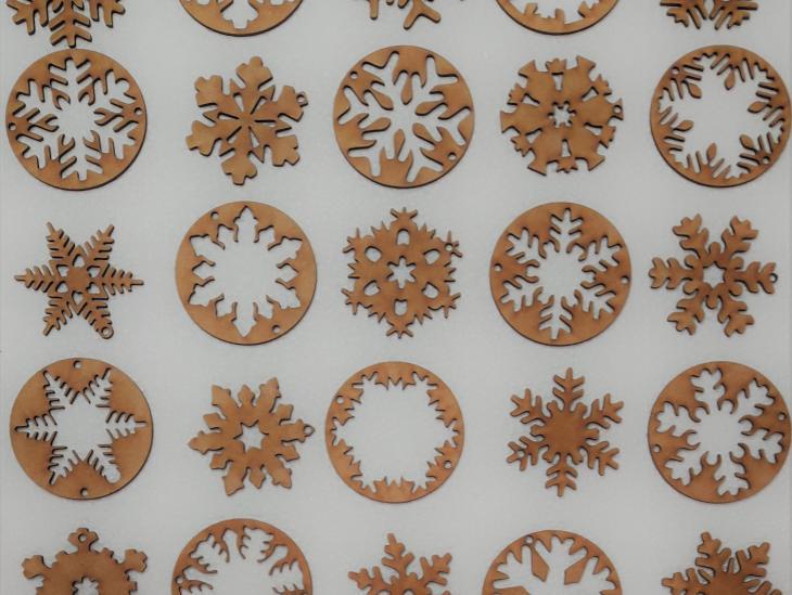 Fotografía Copos nieve