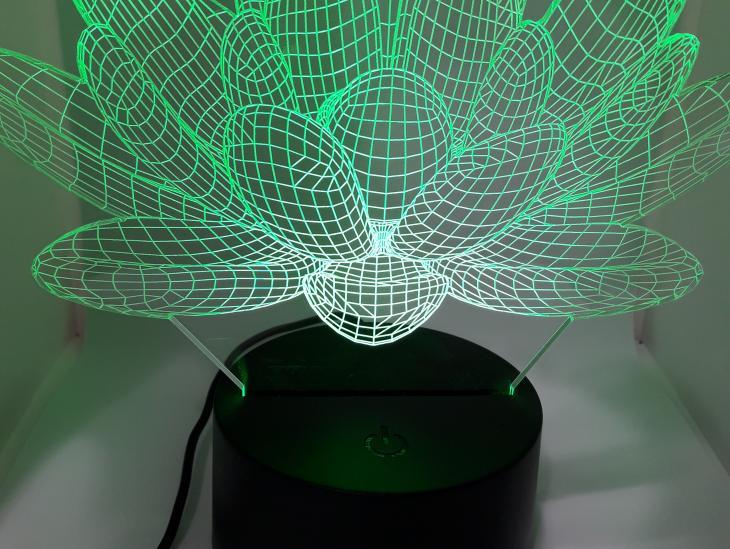 Fotografía Lámpara LED Planta