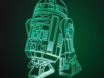 Lámpara R2-D2