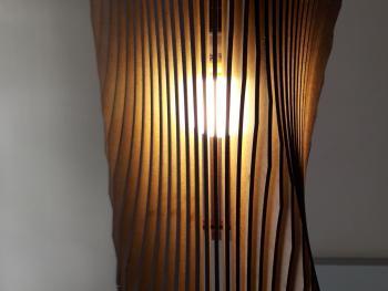 Lámpara  Cuadroredonda