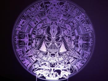 Lámpara LED Star Wars calendario
